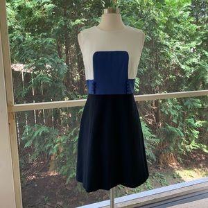Milly Colorblock Sleeveless Dress